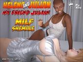 Helena & Julian- My Friend Julian by Pig King