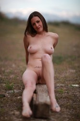 Outdoor nude party group amature 153
