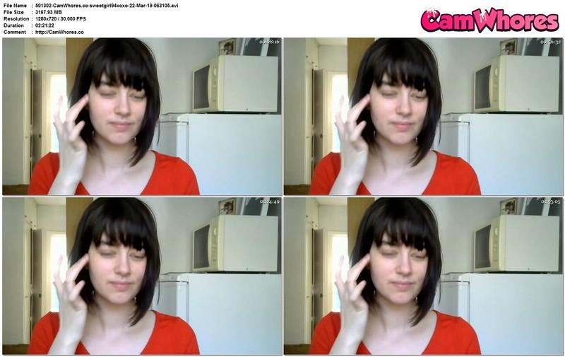 CamWhores sweetgirl94xoxo-22-Mar-19-063105 sweetgirl94xoxo chaturbate webcam show