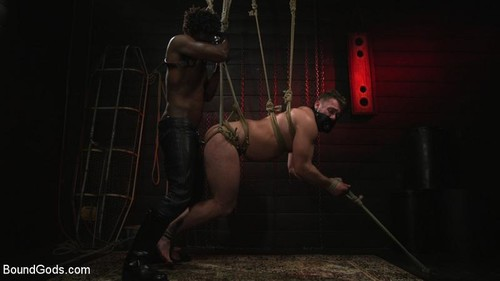 BoundGods – Good Slut Blaze Austin Gets Beaten & Fucked By Hot Dom Devin Trez