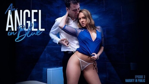 An Angel In Blue Naughty In Public [FullHD]
