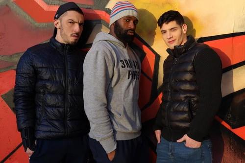 EricVideos - Bastian Get Filled By 2 Dudes (Bastian Karim, AmarXL & Juan Florian) Bareback