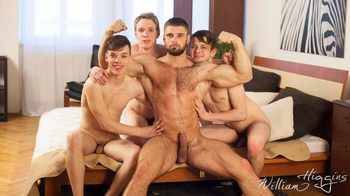WilliamHiggins – Wank Party #96: Raw Backstage