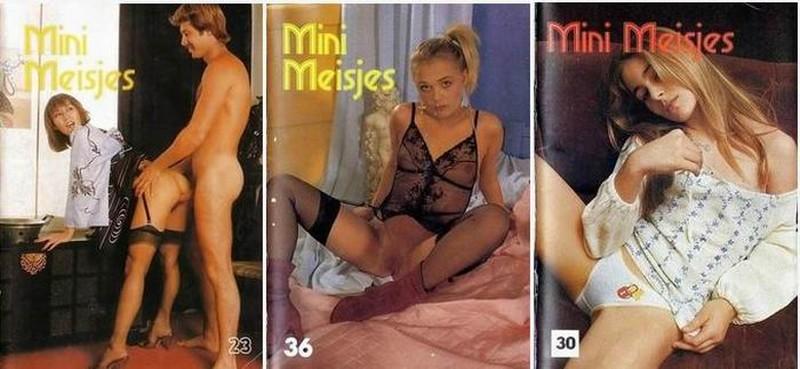 3 Magazine - Mini Meisjes (1970s) JPG