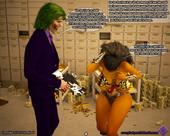 Scorpio69 - The Heist - Sexy Wonder Woman have sex with Joker