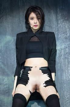 Naked Jiyeon (T-ara) - k-pop fake nude