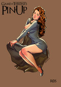 Update XXX art - Game of Trones Pin-up by Andrew Tarusov