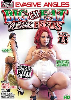 Big Um Fat Black Freaks #13