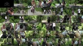 Gimp Spit Roasted In Forest - Miss Jasmine, Mistress Kandy