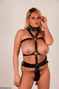 Katie Thornton - Strapped In An Armbinder