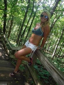 Madden                 Hiking the Falls