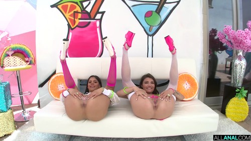 AllAnal - Adria Rae & Katya Rodriguez - Slip And Slide Into Adria And Katya