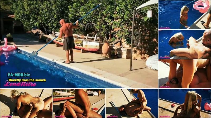 LenaNitro - Spanischen Poolboy vernascht [FullHD 1080P]