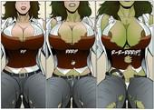 Manic - 3 Shehulk comics pack