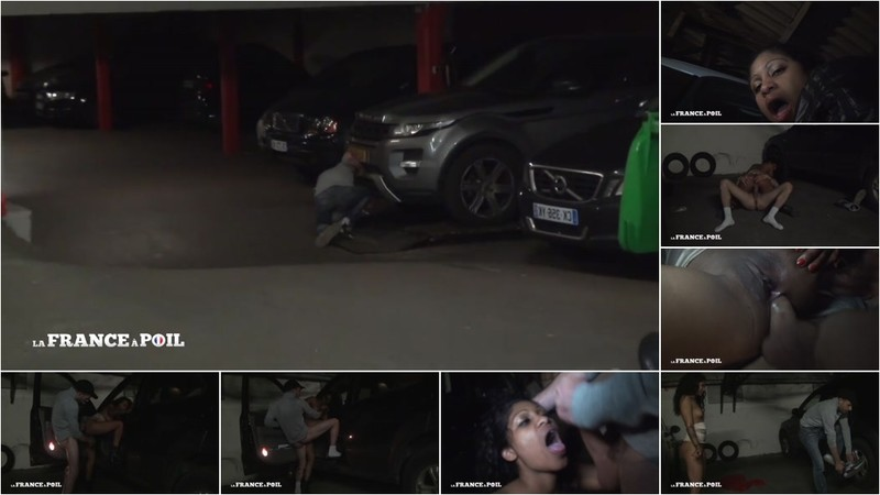 Kali - A young sassy Caribbean fucked hard in a parisian car park! [HD 720P]