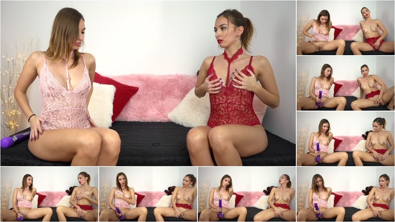 Sweet Bunny - Beautiful Stepsisters Masturbate Together [FullHD 1080P]