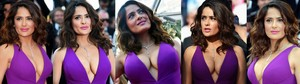 Salma Hayek Video Escotazo Colosal Festival Cannes HD