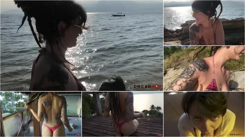 Dread Hot - Ilhabela Trip- Boquete Em Publico e Sexo Em Uma Vista Incrivel do Mar [FullHD 1080P]