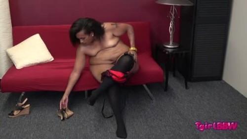 Grooby TGirlBBW Duchess Huge Orgasm -Tgirl Porn, Trap, Shemale sex