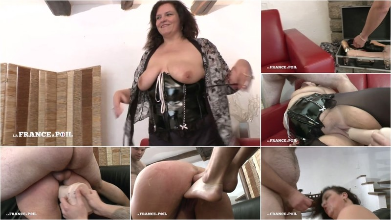Kate - A dildo, a hand and a dick! Everything falls into BBW Kate's pussy! [HD 720P]