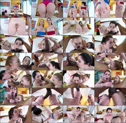 Swallowed - Arietta Adams, Evelyn Claire - Double Trouble With Evelyn And Arietta (HD/720p/634 MiB)