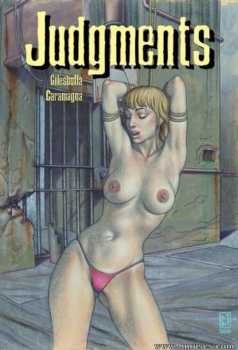 Pervish Comics Judgments 1-2 Cover