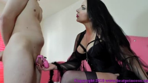 Alexandra - Nephew begs Auntie Snow for Chastity Release - Femdom Porn, Mistress, Submission to a girl