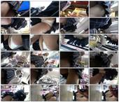制服J●[4K高画質]美少女Jちゃんの純白Pを前から後ろからたっぷりご堪能ください!