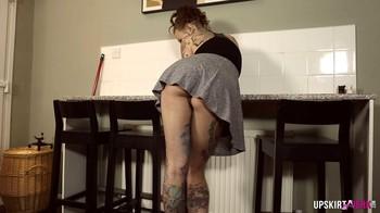 Becky Holt - panty voyeur, FHD