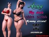 CrazyDad3D - Anny - My Dear Older Sister - Mommy arrived