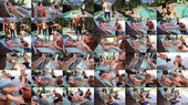 Bella And Raven Train The Pool Dudes Part 1: Foot Worship - Raven Eve, Bella Ink