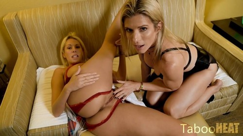 Nikki Brooks, Cory Chase - Mom Takes Me To A Fetish Convention (HD)