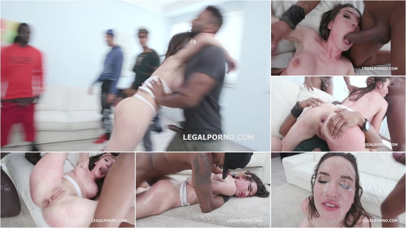 Waka Waka Blacks are Coming, Nataly Gold gets 5BBC, Balls Deep Anal, Rough Sex, DAP, Gapes, Facial with Swallow GIO1194 [HD 720P]