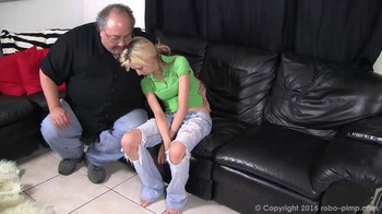Hypno taboo video with the re-education of a naughty daughter