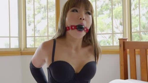 Mina - Lingerie and Handcuffs - BDSM, Pain, Bondage, Sadism