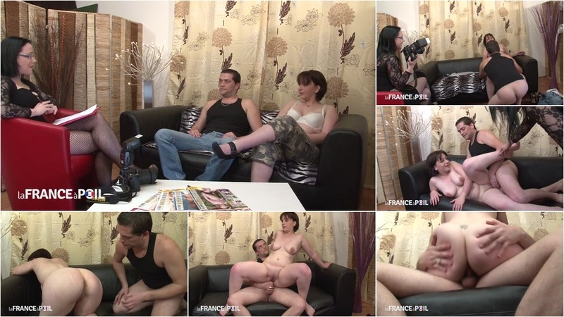 Cassandra - Hot French photographer takes pics while couple fucks [HD 720P]